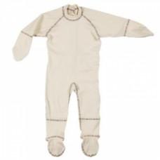Cotton Comfort 100% organiskās kokvilnas pidžama bērniem ar jūtīgu ādu, 12-18mēn.